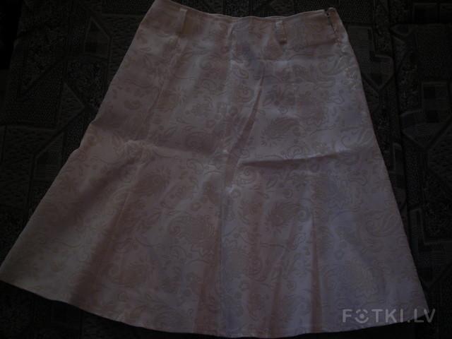 юбка белая 3лата
