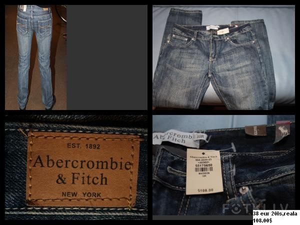 ambercdrombie & fith 8  eur  jauni(uz birkas 105$)